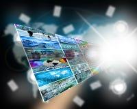Explosão da estrela do Internet Imagem de Stock