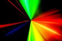Explosão da luz Foto de Stock
