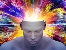 Explosão da mente Ilustração Royalty Free