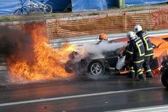Explosão da raça de arrasto, pic5 Fotos de Stock Royalty Free