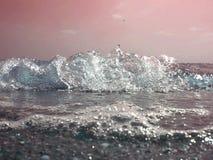 Explosão de cristal Imagem de Stock Royalty Free