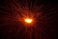 Explosão de Lighr imagens de stock