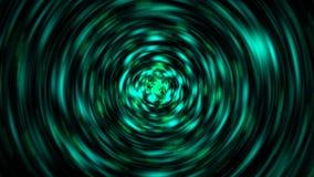 A explosão de partículas do brilho com borrão de movimento radial, 3d rende contexto gerado por computador ilustração do vetor