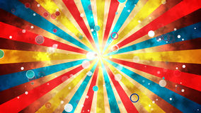 Explosão de Sun do Grunge Fotografia de Stock