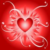 Explosão do amor ilustração royalty free