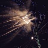 Explosão do fogo de artifício Fotos de Stock