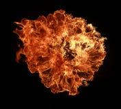 Explosão do incêndio imagens de stock