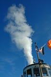 Explosão do vapor Foto de Stock