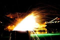Explosão do vento Fotos de Stock Royalty Free