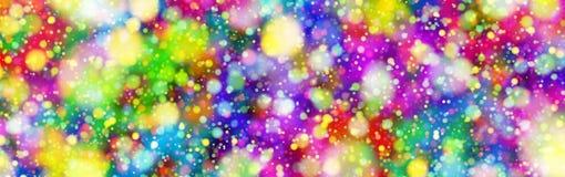 Explosão dos círculos de cor Fotos de Stock
