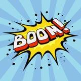 Explosão dos desenhos animados Fotografia de Stock Royalty Free