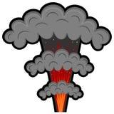Explosão dos desenhos animados. eps10 Imagens de Stock Royalty Free