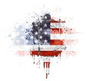 Explosão econômica americana Fotografia de Stock Royalty Free