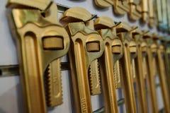 Explosão-impedindo chaves de tubulação Fotografia de Stock