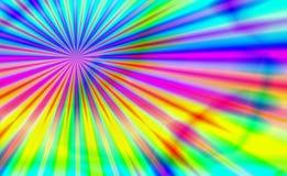 Explosão psicadélico ilustração do vetor