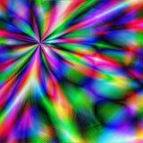 Explosão psicadélico Imagens de Stock