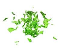 Explosão verde-clara do jarro Ilustração do Vetor