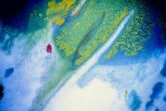 Explosões da pintura colorido Imagem de Stock Royalty Free
