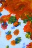 Explosões da pintura colorido Imagens de Stock Royalty Free