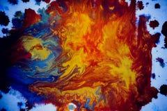 Explosões da pintura colorido Fotos de Stock