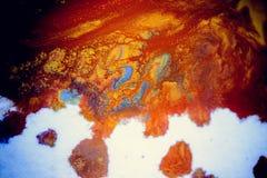 Explosões da pintura colorido Fotografia de Stock