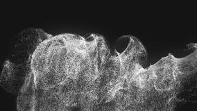 Explosión única de la partícula stock de ilustración