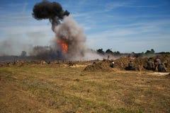 Explosión Imagen de archivo libre de regalías