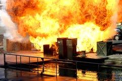 Explosión Fotos de archivo