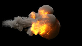 Explosión almacen de video