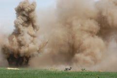Explosión. Foto de archivo