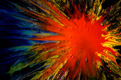 Explosión abstracta Fotos de archivo