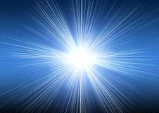 Explosión azul marino Imagen de archivo libre de regalías