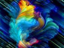 Explosión colorida Foto de archivo