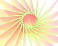Explosión colorida abstracta del sol Fotos de archivo