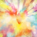 explosión colorida del Estallido-arte fotografía de archivo libre de regalías