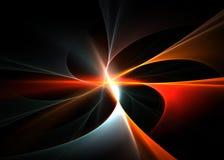 Explosión de color Imagen de archivo libre de regalías