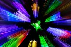 Explosión de color Foto de archivo