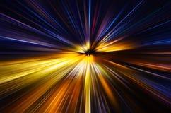 Explosión de color abstracta Fotografía de archivo libre de regalías
