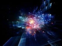 Explosión de color explosiva Imagen de archivo