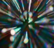Explosión de Irridescent Fotos de archivo