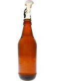 Explosión de la cerveza Fotografía de archivo