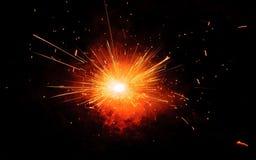 ¡Explosión de la chispa! Imágenes de archivo libres de regalías