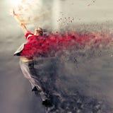 Explosión de la danza Imágenes de archivo libres de regalías