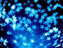 Explosión de la estrella fotografía de archivo