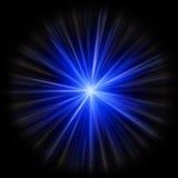 Explosión de la estrella de la supernova Imágenes de archivo libres de regalías