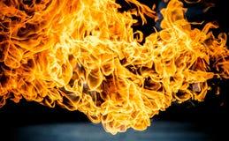 Explosión de la gasolina fotos de archivo