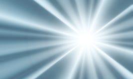 Explosión de la luz Imagen de archivo