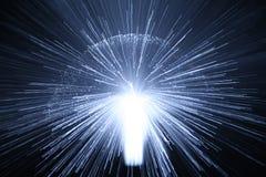Explosión de la luz imágenes de archivo libres de regalías