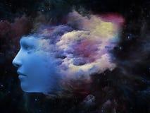 Explosión de la mente ilustración del vector
