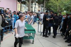 EXPLOSIÓN DE LA MINA DE CARBÓN EN EL SOMA, MANISA Fotos de archivo
